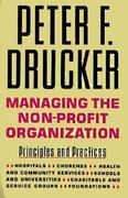 Managing the Non-Profit Organization 0 9780887306013 0887306012