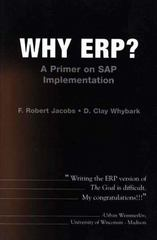 Why ERP?  A Primer on SAP Implementation 1st edition 9780072400892 0072400897