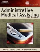 Administrative Medical Assisting 6th edition 9781418064112 1418064114