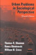 Urban Problems in Sociological Perspective 4th edition 9781577661955 1577661958