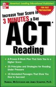 Increase Your Score In 3 Minutes A Day: ACT Reading 1st edition 9780071456678 0071456678