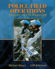 Police Field Operations 1st edition 9780205508280 0205508286