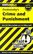 CliffsNotes on Dstoevsky's Crime and Punishment 1st edition 9780764586552 0764586556