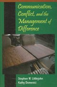 Communication, Conflict, and the Management of Difference 1st Edition 9781577665038 1577665031