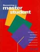 Becoming a Master Student, Eighth Edition 8th edition 9780395830543 0395830540