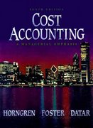 Cost Accounting 10th edition 9780137605545 0137605544
