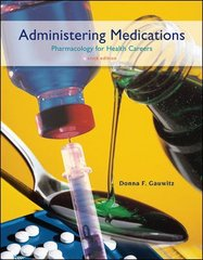 Administering Medications 6th edition 9780073520858 0073520853
