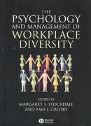 The Psychology and Management of Workplace Diversity 1st Edition 9781405100960 1405100966