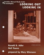 Looking Out/Looking In 9th edition 9780155057890 0155057898