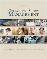 Operations and Supply Management wStudent DVD Rom 12th Edition 9780077228934 0077228936