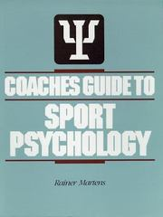 Coaches Guide to Sport Psychology 1st edition 9780873220224 0873220226