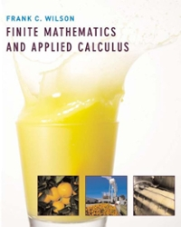 Student Solutions Manual for Wilson's Finite Mathematics and Applied Calculus 1st edition 9780618333004 0618333002