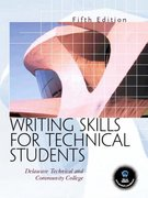 Writing Skills for Technical Students 6th Edition 9780132391986 0132391988