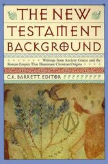New Testament Background 1st Edition 9780060608811 0060608811
