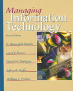 Managing Information Technology 4th edition 9780130646361 0130646369