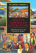 The Cambridge Companion to Native American Literature 1st Edition 9780521529792 0521529794