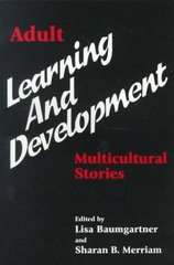 Adult Learning and Development 1st Edition 9781575240978 1575240971