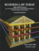 Business Law Today, The Essentials 4th Edition 9780314204912 0314204911
