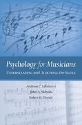 Psychology for Musicians 1st Edition 9780195146103 0195146107