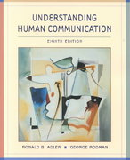 Understanding Human Communication 8th edition 9780195219104 0195219104