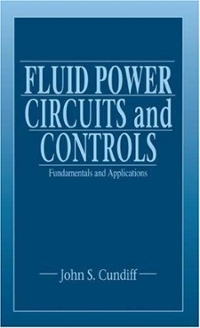 Fluid Power Circuits and Controls 1st Edition 9780849309243 0849309247