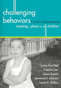 Challenging Behaviors in Early Childhood Settings 1st edition 9781557666826 1557666822
