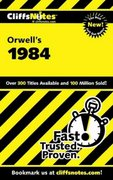 CliffsNotes on Orwell's 1984 1st edition 9780764585852 0764585851