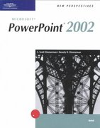 New Perspectives on Microsoft PowerPoint 2002 Brief 1st edition 9780619044008 0619044004