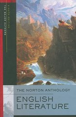 The Norton Anthology of English Literature, The Major Authors 8th Edition 9780393928280 0393928284