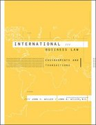International Business Law 1st edition 9780072822519 0072822511