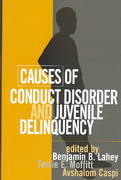 Causes of Conduct Disorder and Juvenile Delinquency 1st edition 9781572308817 1572308818