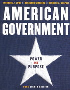 American Government 8th edition 9780393924831 0393924831