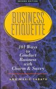 Business Etiquette 2nd edition 9781564146144 1564146146