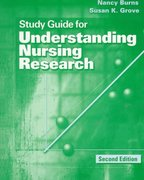 Study Guide with Study Disk for Understanding Nursing Research 2nd edition 9780721681085 0721681085