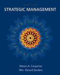Strategic Management 2nd Edition 9780132341387 0132341387