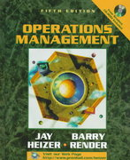 Operations Management 5th edition 9780139050688 013905068X