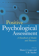 Positive Psychological Assessment 1st Edition 9781557989888 1557989885