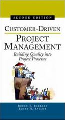 Customer-Driven Project Management 2nd Edition 9780071369824 0071369821