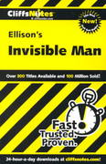 CliffsNotes on Ellison's Invisible Man 1st edition 9780764586569 0764586564