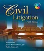 Civil Litigation 5th edition 9781428318397 1428318399