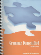 Grammar Demystified 2nd edition 9780536491282 0536491283