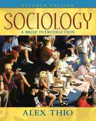 Sociology 7th edition 9780205547098 0205547095