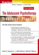The Adolescent Psychotherapy Treatment Planner 4th edition 9780470893760 0470893761