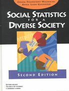 Social Statistics for a Diverse Society 2nd edition 9780761986683 0761986685