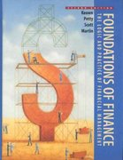 Foundations of Finance 2nd edition 9780137481538 0137481535