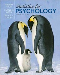 Statistics for Psychology 5th edition 9780136010579 0136010571