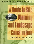 A Guide to Site Planning and Landscape Construction 4th edition 9780471129325 0471129321