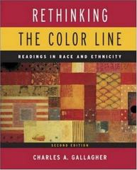Rethinking the Color Line 2nd edition 9780767420914 0767420918