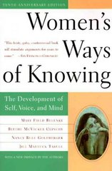 Women's Ways of Knowing 10th edition 9780465090990 0465090990