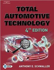 Total Automotive Technology 4th Edition 9781401824761 1401824765